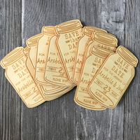 Personalized Engraved Save The Date Wedding Invitation Wooden Magnet Tags Wedding Favor Rustic Wedding Bridal