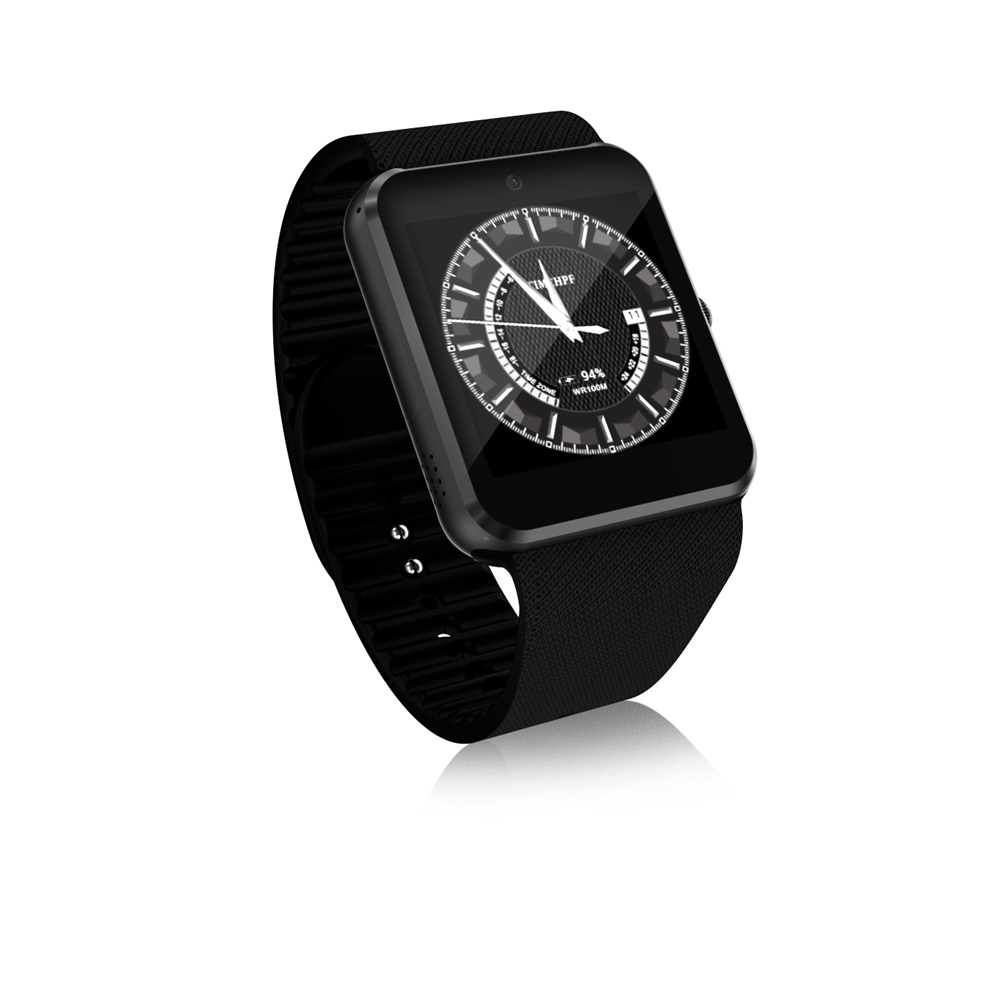 3G QW08 Smart Horloge 1.54 inch Scherm Android 4.4 MTK6572 1.2 GHz Dual Core 512 MB RAM 4 GB ROM Bluetooth 4.0 Android SmartWatch - 4