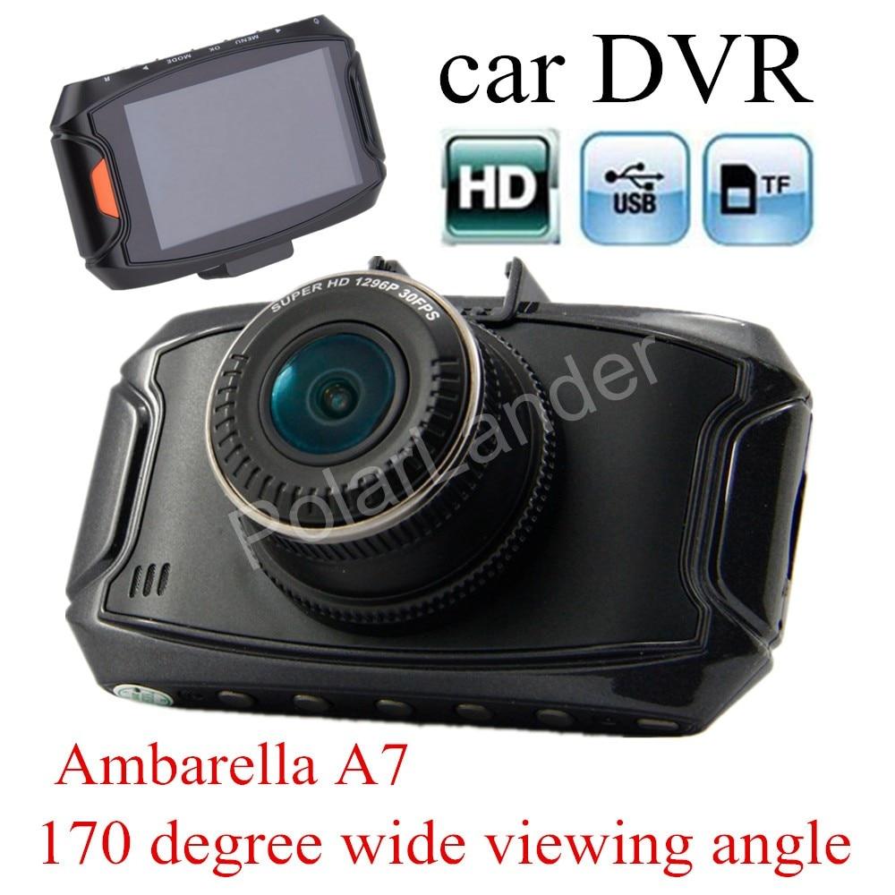 Car DVR Camera G90 HD Night Vision 170 degree wide viewing angle dash cam Recorder auto Ambarella A7 camcorder 2.7 inch carcam new arrival 2 7 inch ambarella a7 car camera dvr recorder g90 hd 170 degree wide viewing angle g sensor night vision