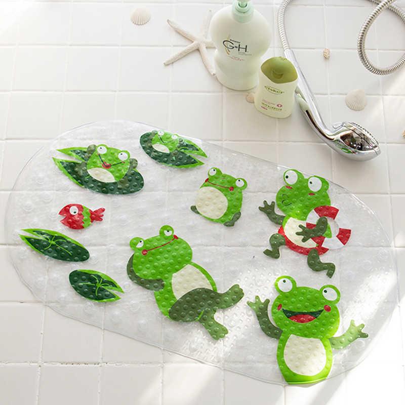 Kinder bad rutschfeste matte frog Bad matten Schwangere frauen cartoon tür teppich Badewanne massage Osmanen Tür teppich