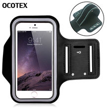Tahan Air Sport Arm Band Case untuk iPhone 11 Pro XS Max XR X 8 7 6 6 S PLUS 5S se Gymnasium Aksesoris Lari Ponsel Pouch Cover(China)