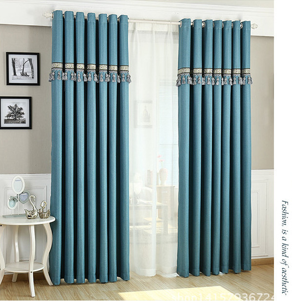 Cloth For Curtains For Living Organza Tulle Summer Style European