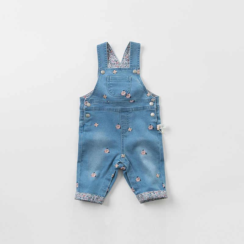 DBM9490 dave bella primavera bebé sin mangas Niña mameluco mono de bebé niños Pelele de boutique 1 pieza