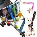 5 unids/lote caliente venta cochecito de bebé juguetes anti-perdida alta calidad carrinho bind juguete accesorio poussette paraguas passeggino cuerda
