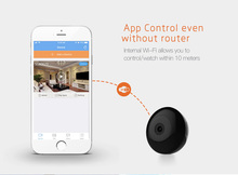 Mini Wifi Digital Camera 720P HD Camcorder Kamera IR Night Vision Camera Espia Sport DV Loop Cam IP Camera Remote Alarm Freeship