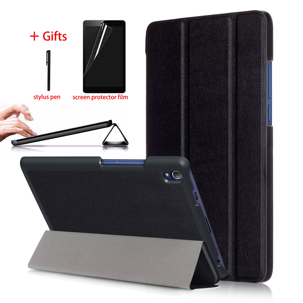 Smart Magnetic Case For Lenovo Tab3 8 Plus P8 TB 8703F TB 8703X Tablet Leather Cover
