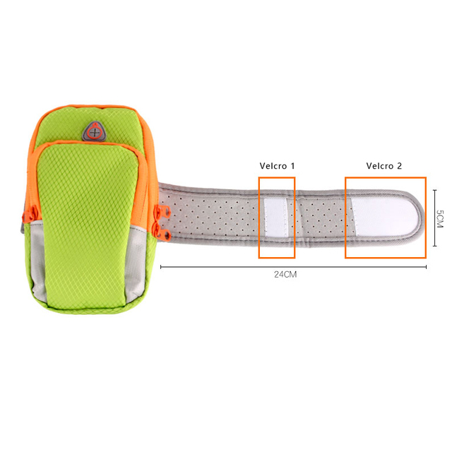 Nylon Running Sport Bag Fitness Gym Jogging Riding Cycling Accessories 5.5inch Cellphone Bag Outdoor Sports Arms Package Newest 6