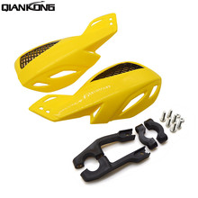 motorcycle accessories hand guards motocross universal plastic 22mm for kawasaki z750 z1000  Versys 650 2006 2007