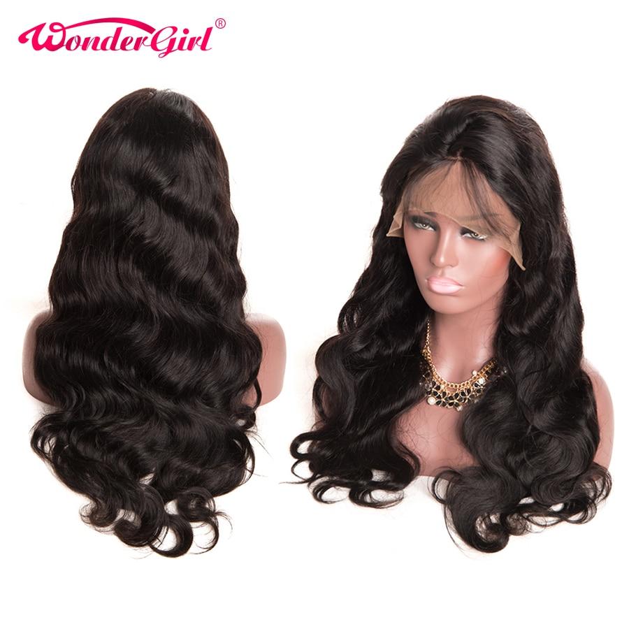 Čudovito dekle brezhibno čipke sprednje lasulje las las za črne - Človeški lasje (za črne) - Fotografija 2