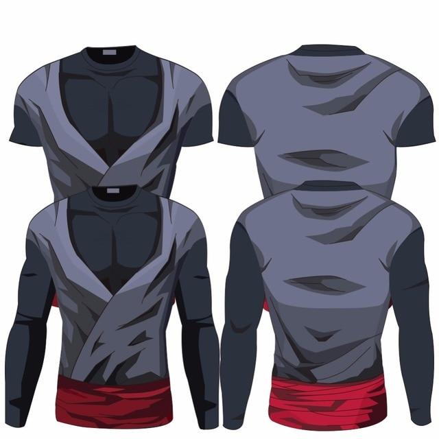 3D Dragon Ball Z Gym Fitness T-Shirt