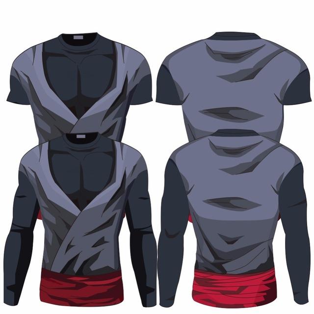 Black Goku / Trunks Printed Armor
