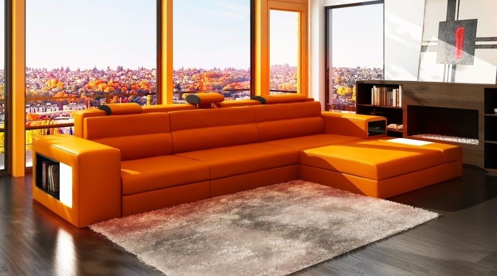 Moderne Wohnzimmer Sofa Mit LED Licht 0413 B2006B