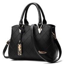 Women Bags Casual Tote PU Leather Handbags Fashion Messenger Famous Brands Designer tassel nice black