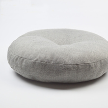 Linen futon cushion meditation thickening circle Large fabric floor mat japanese Seat Cushion tatami
