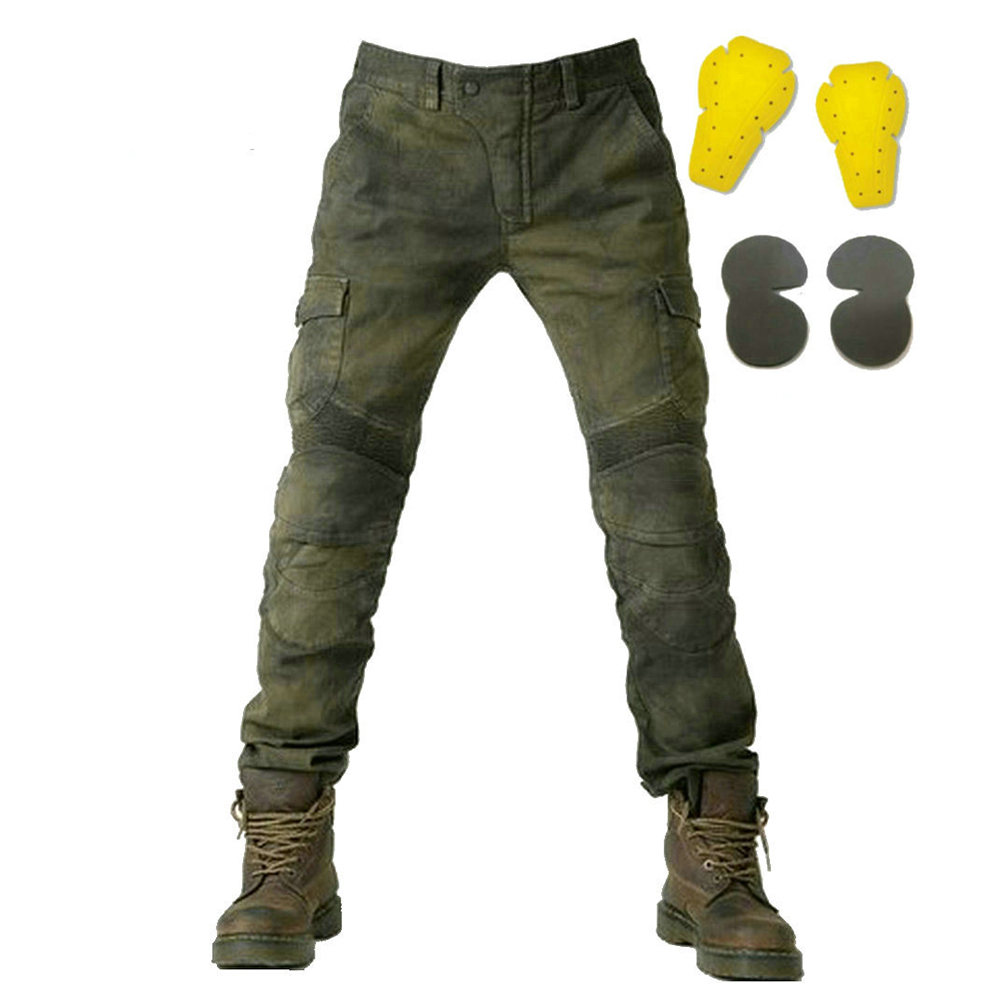 Motorcycle Pants Men Moto Jeans Protective Gear Riding Touring Motorbike Dirt Bike Trousers Motocross Pants Pantalon Moto Pants distressed blue jeans men latin cow brand clothing mid stripe luxury denim destoyed men s moto biker jeans ripped uomo 802 c