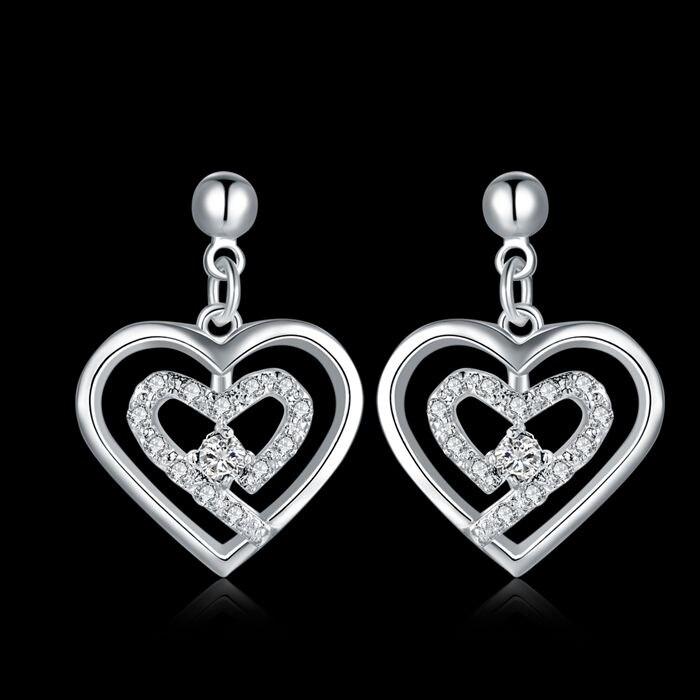 ad886db4464 ツ)  ¯925 jóias de prata banhado brincos