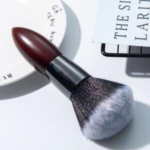 BBL 1 Piece Luxuriously Dense Loose / Compact Powder Brush Blush Makeup Brushes Buffing Contouring Blending Brush Super Quality(China)
