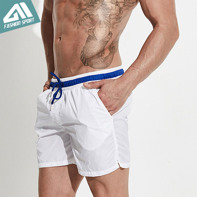 Desmiit Fast Dry Men's   Board     Shorts   Summer Beach Male Swimming   Shorts   Athletic Sport Running Gym   Shorts   Soft Homewear Men DT72