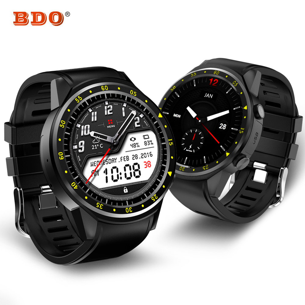 все цены на New Smart Watch Men GPS Sports Smartwatch F1 Bluetooth Wristwatch Heart Rate Monitor Fitness Tracker SIM TF Card for Android IOS