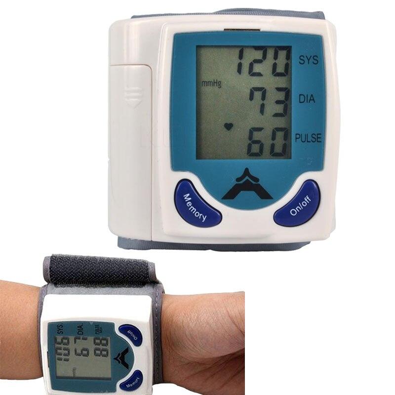 Automatische smart Manschette Handgelenk Blutdruckmessgerät Blut Presure Meter Monitor maschine Herz Rate Pulse Tragbare Tonometer