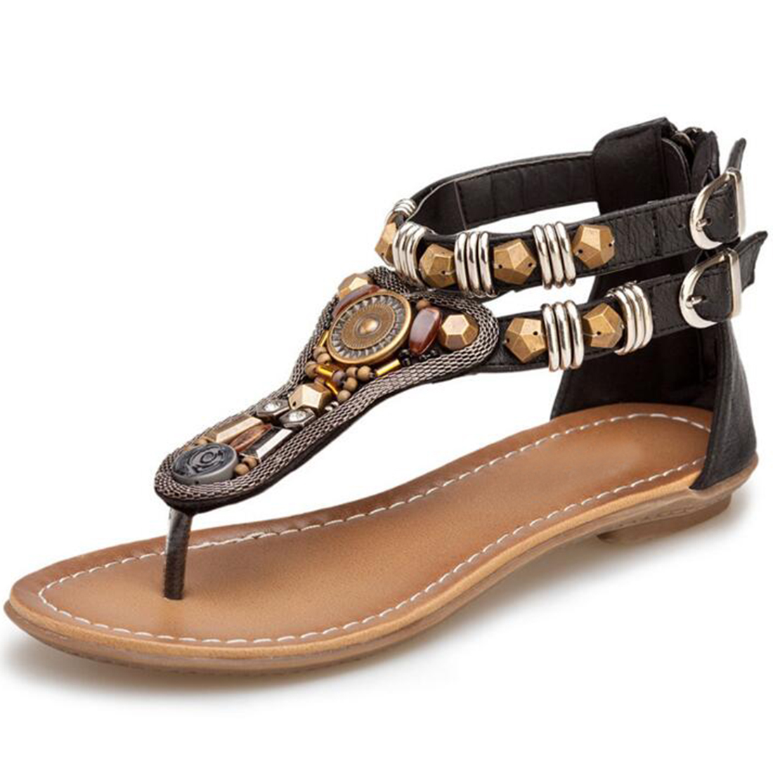 Strappy Flip Flops Sandals