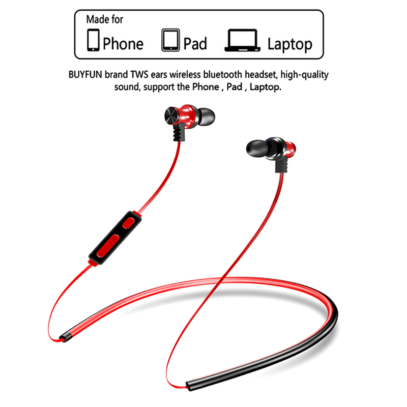 V4.1+EDR TWS Bluetooth Headphones Sport Bluetooth Earphone Headset For Apple iPhone Samsung Xiaomi Huawei Phone Wireless Earbuds