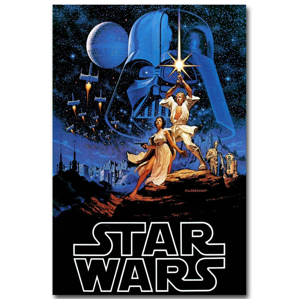 Star Wars Episode Iv A New Hope Art Silk Fabric Poster Print 13x20 24x36 Inch Movie Picture For Room Wall Decor 041 Poster Print Picture For Roomsilk Fabric Poster Aliexpress