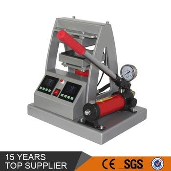 12x12cm(5x5inch) MP170-2 Rosin Heat Press Machine 10,000PSI Pressure 10Tons Manual Hydraulic LCD Control Samll Rosin Press Heat Machine