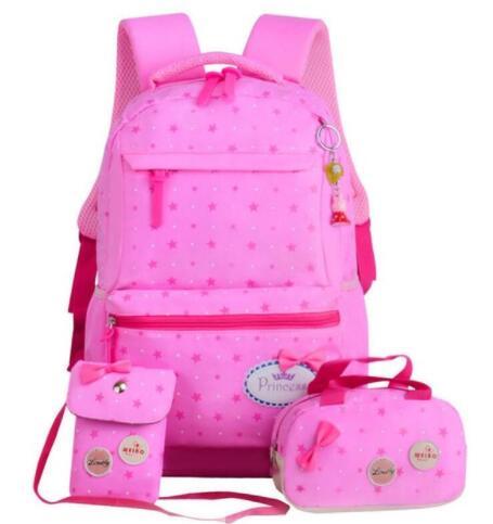 f2b91d2c1 Niños escuela bolsas adolescentes chicas impresión Mochila mochilas  escolares 3 unids/set Mochila viaje bolso lindo en Bolsas de la escuela de  Bolsos y ...