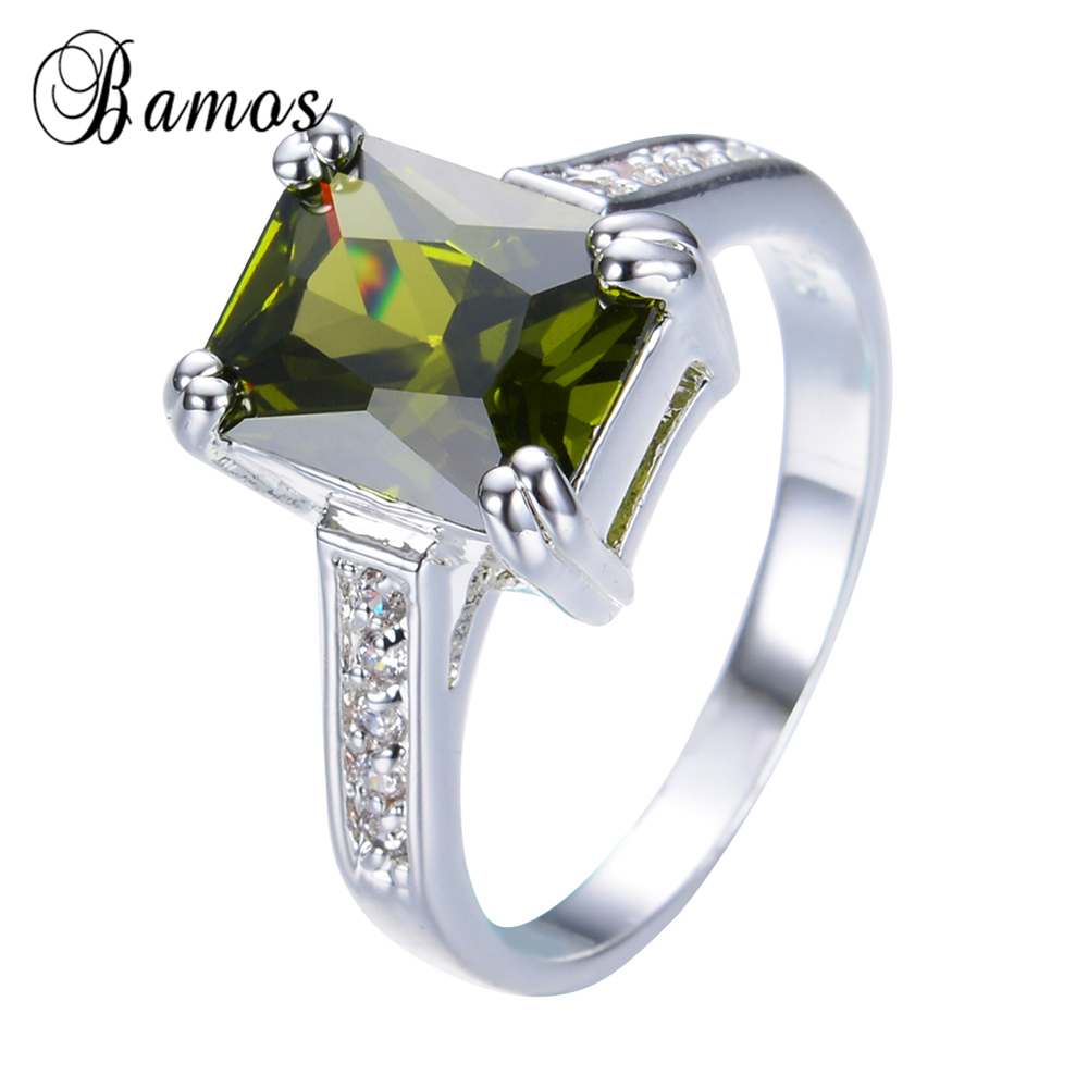 rings engagement gold rose new peridot wedding of