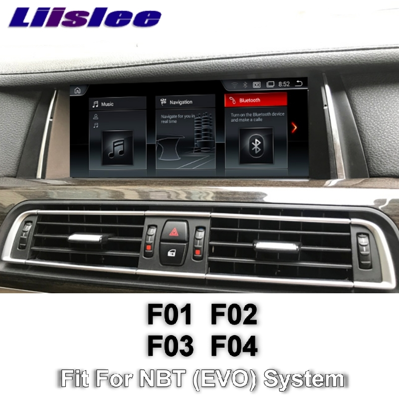 For BMW 7 F01 F02 F03 F04 NBT 2013~2015 LiisLee Multimedia GPS Audio Hi Fi Radio Stereo Original Style For NBT Navigation NAVI