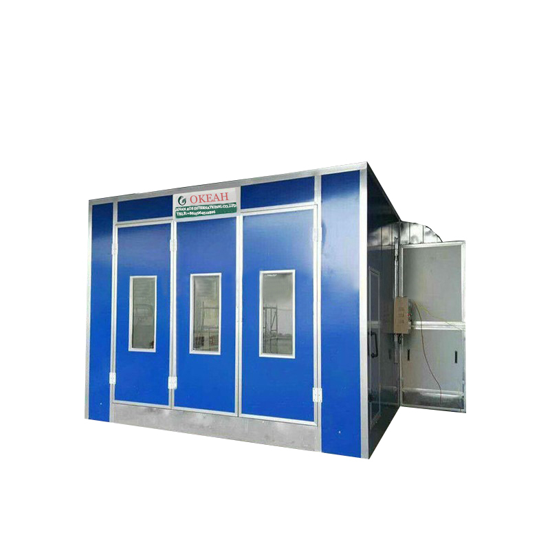 Car Paint Prices >> Good Price Car Paint Cabin Spray Booth Oven With Exhaust Fan 5 5kw 7 5kw