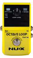 NUX Octave Loop Guitar Effects Pedal Phrase Loop Record Pedal