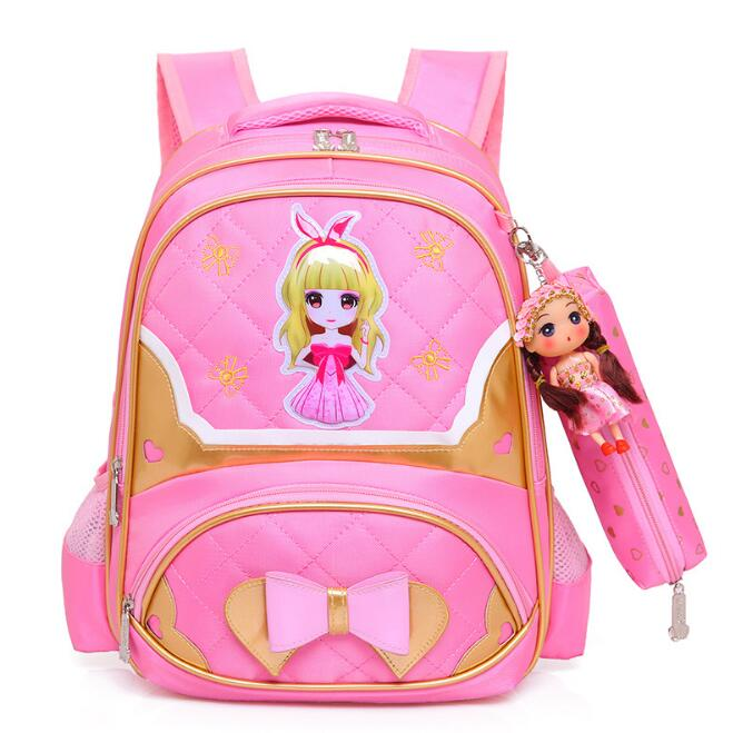 2018 Children School Bags Girls Princess Backpack Primary School Backpacks Kids Orthopedic Backpack Schoolbags Mochila Infantil