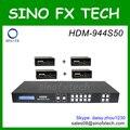 HDM-944S50 4x4 HDMI Matrix com Simultânea de CAT5/6 e Saídas HDMI