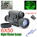Multifunctional 6x50 Night Vision Scope Sight Night vision Riflescope Night Vision Monocular Scope with FREE 32GB TF Card
