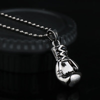 rocky boxing glove pendant necklace 4