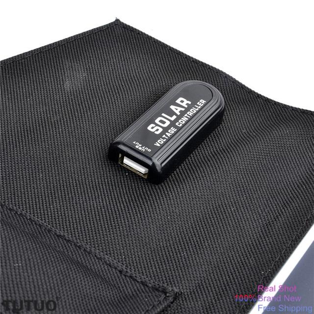 High Efficiency 13W 5V USB Port Output Foldable Solar Charger