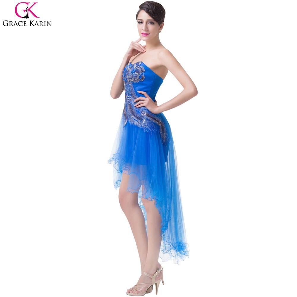 Erfreut Blaue Kurze Prom Kleider Fotos - Brautkleider Ideen ...