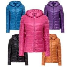 Nice New Fashion Ladies Down Short Design Coat Winter Jacket Women Duck Down Outerwear 11 Colors