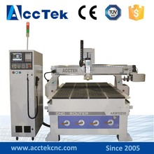 Syntec Lathe machinery woodworking engraving machine with carousel auto tool changer made in China