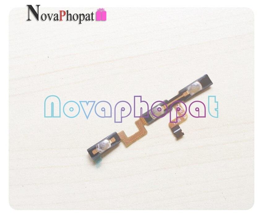 Novaphopat interrupteur de Volume marche/arrêt Flex pour ZTE Blade A330 bouton de Volume latéral clé de Volume câble de remplacement + suivi