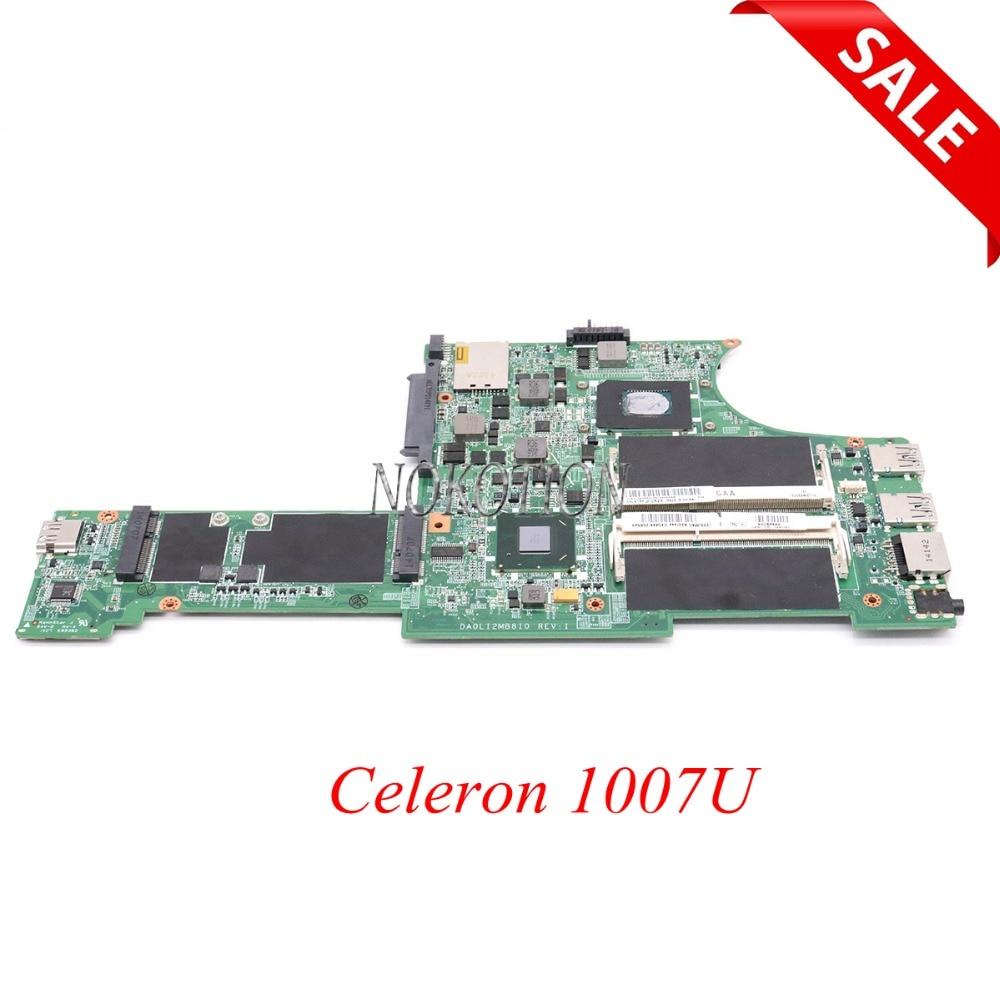NOKOTION 04X0320 DA0LI2MB8I0 Main board For lenovo thinkpad X131E laptop motherboard Celeron 1007UNOKOTION 04X0320 DA0LI2MB8I0 Main board For lenovo thinkpad X131E laptop motherboard Celeron 1007U