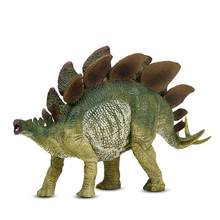 Stegosaurus Dinosaur Model Toys dinosaurios Animal Plastic PVC Action Figure Toy For Kids girl boy Gifts(China)
