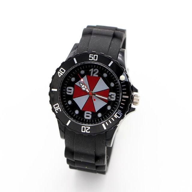 Umbrella silicone watch Quartz Kids Sports fashion cartoon Watch Wristwatch For