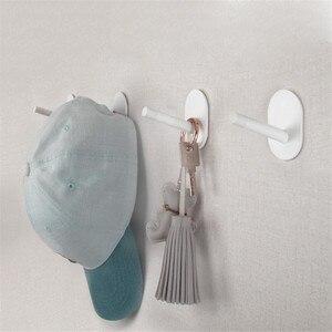 Image 3 - 3 Youpin HL Ít Tự Dính Móc Mạnh Bếp Phòng Tắm Tủ Quần Áo Móc Treo Tường 3Kg Chịu Tải Max Móc Treo Móc lên