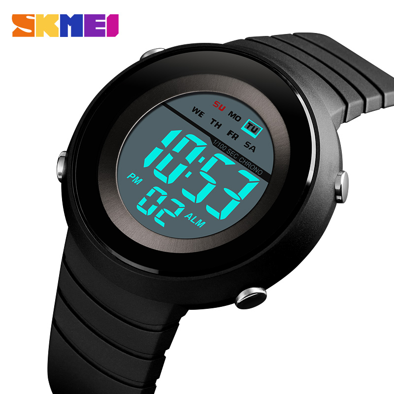 2019 SKMEI Fashion Men LED Digital Watch Outdoor Military Sports Watches Waterproof Male Wristwatches Relogio Masculino 1497
