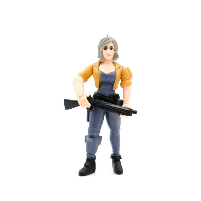 11.5cm 8pcs Game Fortnight PVC Characters + Weapons Kids Collection Models Doll Fortnit Action Figure Toys Boys Girl Gifts