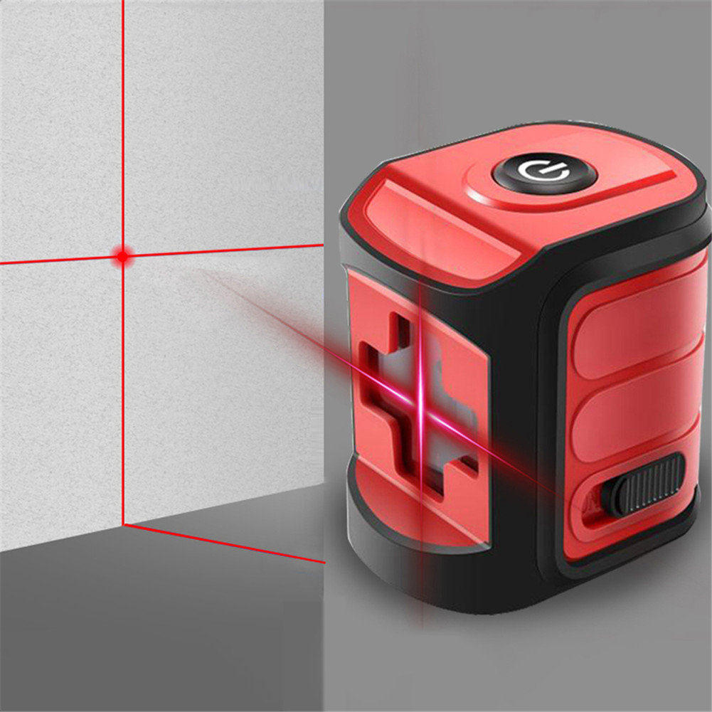 Mini Laser Level Outdoor Strong Light High-Precision Micro Infrared Level Red Blue Green Light 2 LineMini Laser Level Outdoor Strong Light High-Precision Micro Infrared Level Red Blue Green Light 2 Line