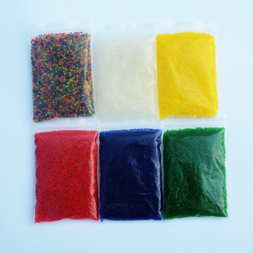 10000pcs\bag Crystal Soil Hydrogel Gel Water Beads Pearl